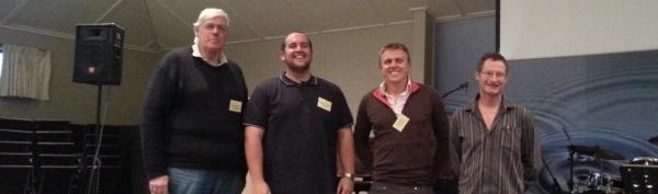 Four keen CCTM evaluators, in no particular order!