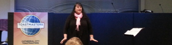 Heros don't have to wear tight red undies asserts Toastmaster Jan!
