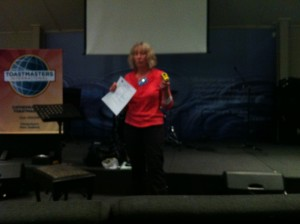 Janet Christchurch Toastmasters